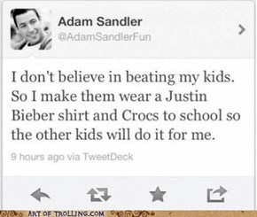 Trolling Level: Adam Sandler