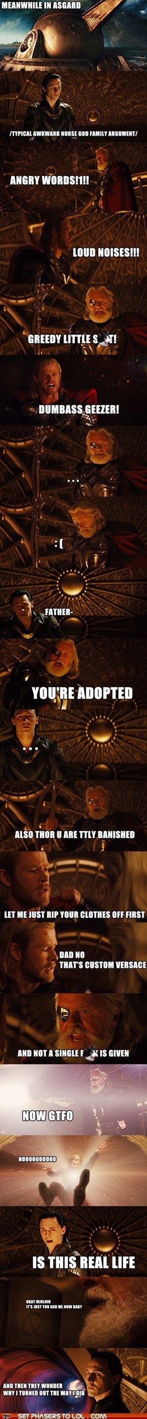 Thor - Family Drama in Asgard