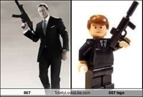 007 Totally Looks Like 007 lego