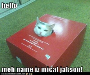 hello  meh name iz mical jakson!