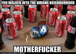 pepsi is just gay coke right?