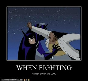 WHEN FIGHTING