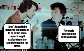 Shh, Moffat doesn't have to know about this!