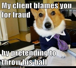 Lawyer Dog: He Trusted You!