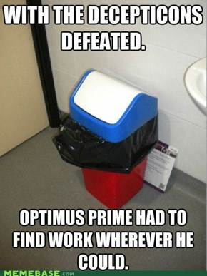 Autobots, Recycle!