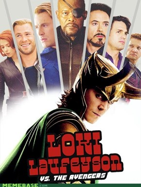 Loki Laufeyson Vs The Avengers