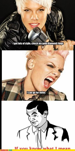 Pink's Lyrics