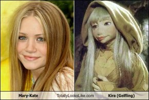 Mary-Kate Totally Looks Like Kira (Gelfling)