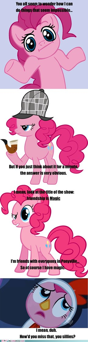 Pinkie's Magic