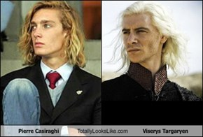 Pierre Casiraghi  Totally Looks Like Viserys Targaryen