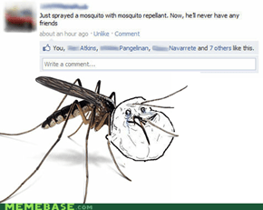 Forever Alone Mosquito