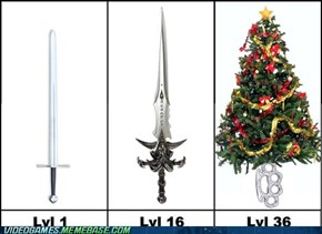 Weapons in MMOs