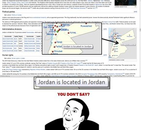 Did you know that Jordan is located in...Jordan