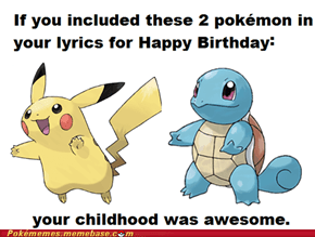 And Squirtle Too!