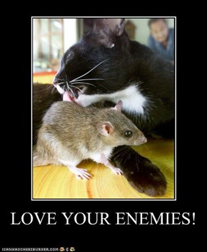 LOVE YOUR ENEMIES!