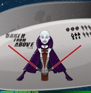 Star Wars Nose Art: Asajj Ventress