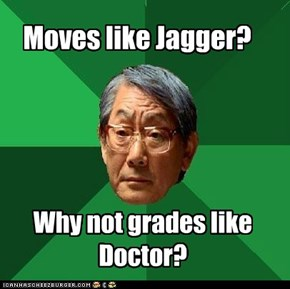 Moves like Jagger?