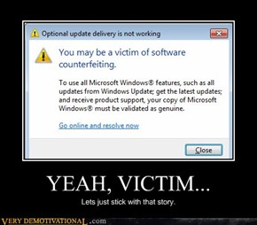 YEAH, VICTIM...
