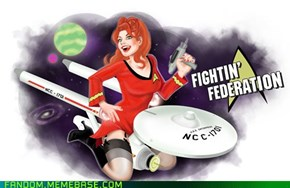 Star Trek Nose Art: Enterprise A