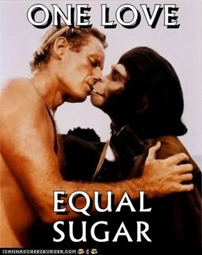 ONE LOVE  EQUAL SUGAR