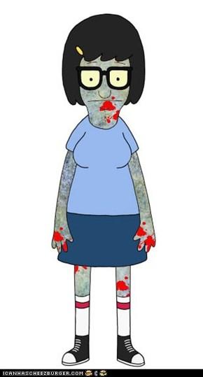 Tina Belcher, Zombie.