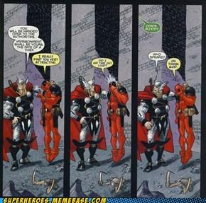 Deadpool Hits On Everyone