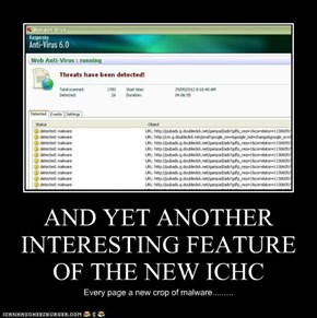 AND YET ANOTHER INTERESTING FEATURE OF THE NEW ICHC
