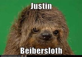 Justin  Beibersloth
