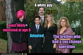 A white guy