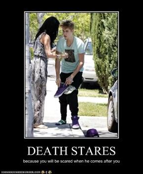 DEATH STARES
