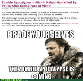 Brace Yourselves for Zombies