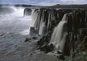Selfoss Waterfalls in Iceland
