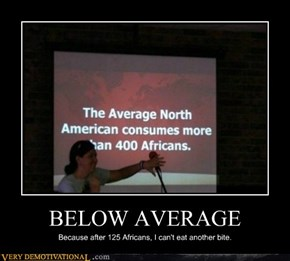 BELOW AVERAGE