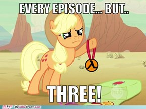 Applejack Shares Our Pain