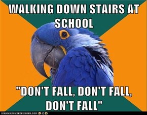 Paranoid Parrot: They've Betrayed Me Before