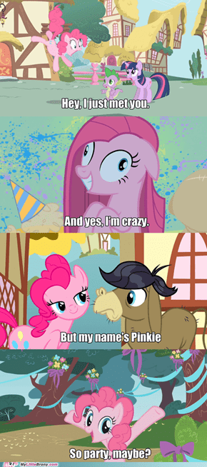 How Pinkie Pie makes friends
