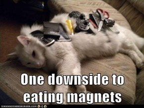 One downside to eating magnets