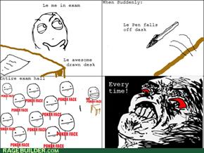 Exam halls
