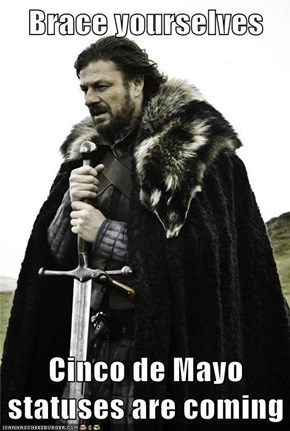 Brace yourselves  Cinco de Mayo statuses are coming