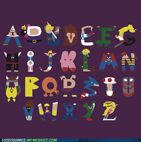 The Gamer's Alphabet