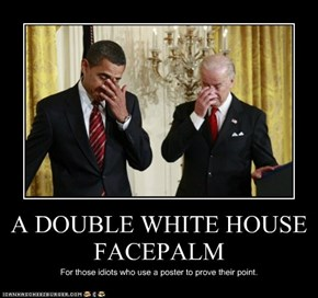 A DOUBLE WHITE HOUSE FACEPALM