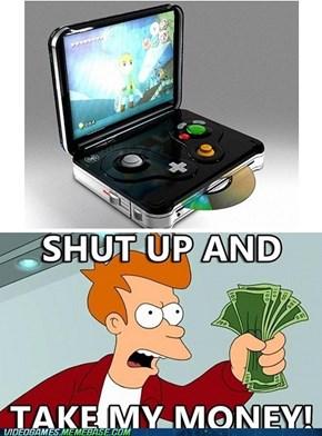 Handheld Game Cube?
