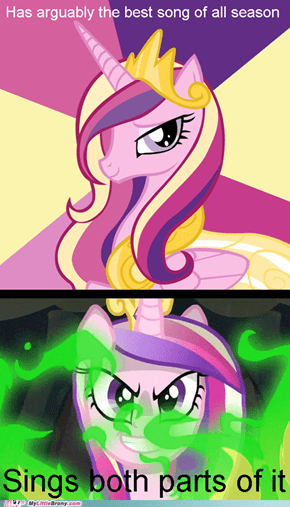 Cadence can't share the spotlight.