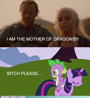 Twilight Stormborn, the mother of dragons.