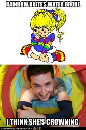 RAINBOW BRITE'S WATER BROKE