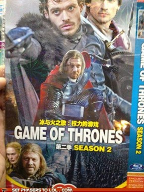 Game of Thrones Season Two DVD: Seems Legit