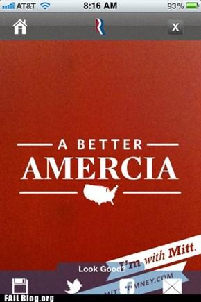 Romney Campaign FAIL