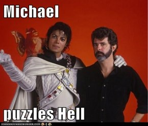 Michael  puzzles Hell