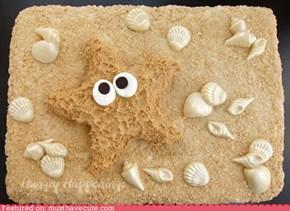 Epicute: Peanut Butter Starfish Cake