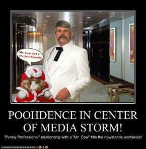 POOHDENCE IN CENTER OF MEDIA STORM!
